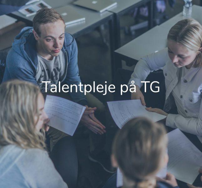 Forside - talentpleje stor