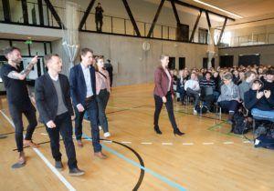 Besøg af Mette Frederiksen på TG