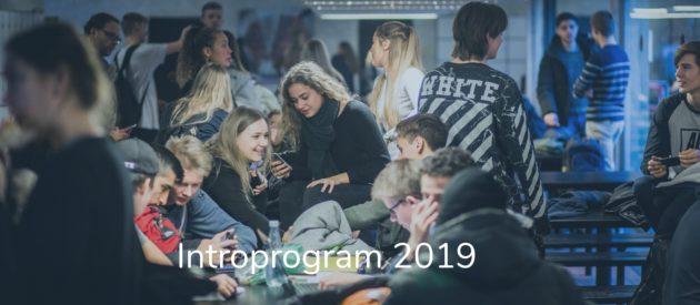 Forside Introprogram 2019