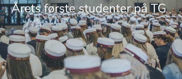 Årets første studenter TG hjemmeside
